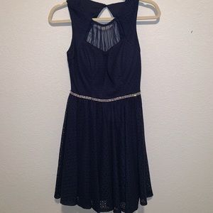 City Studio Homecoming Navy Blue Dress